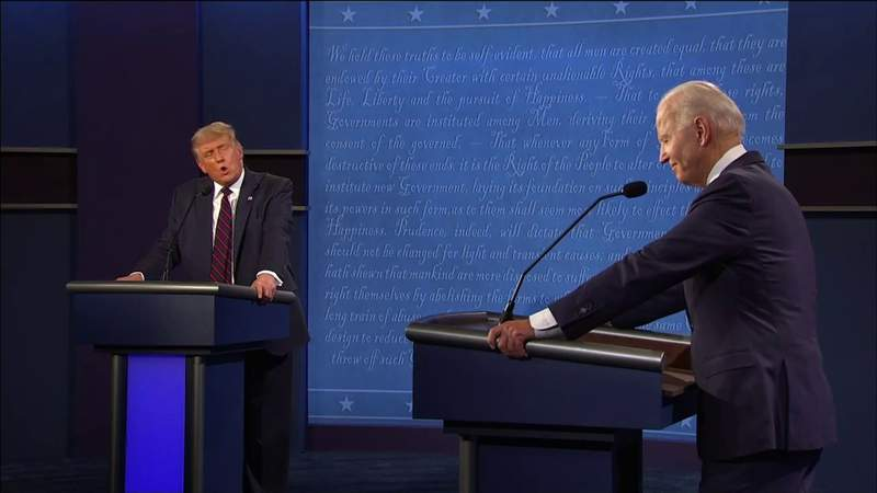 Raised voices, interrupting and chaos was story of first 2020 Presidential Debate