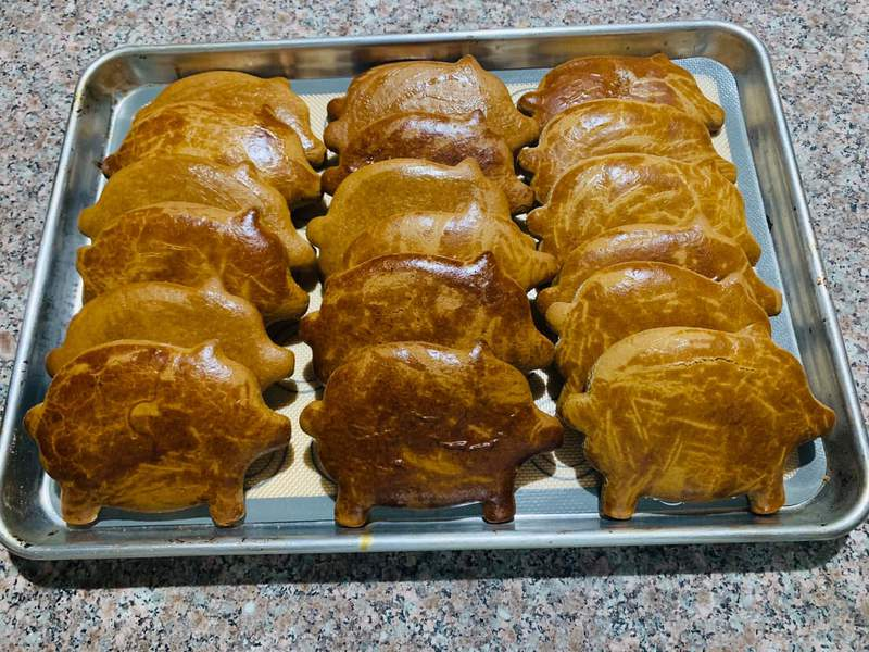 """This Mexican sweet bread is called """"maranitos,"""" or little piggies."""
