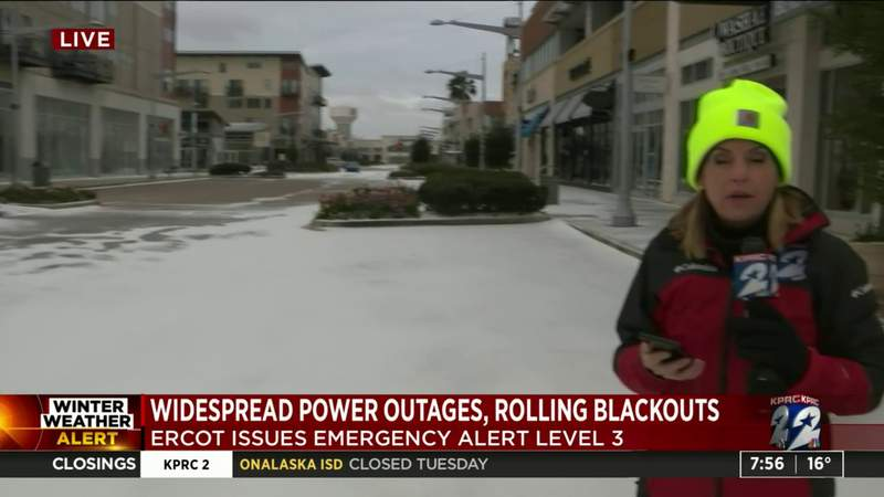 Widespread outage causes