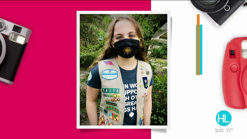National Gold Award Girl Scout makes a lasting impact on Houston community through service project | HOUSTON LIFE | KPRC 2