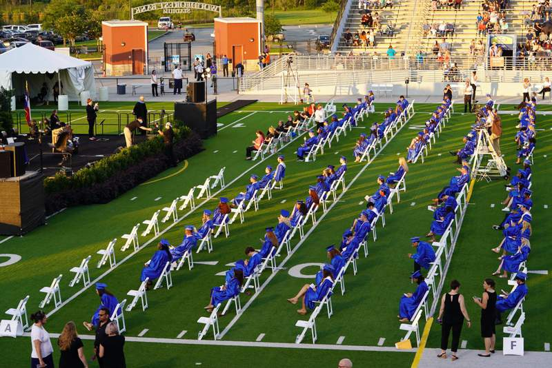 Oak Ridge HS Graduation at Woodforest Bank Stadium Wednesday June 3