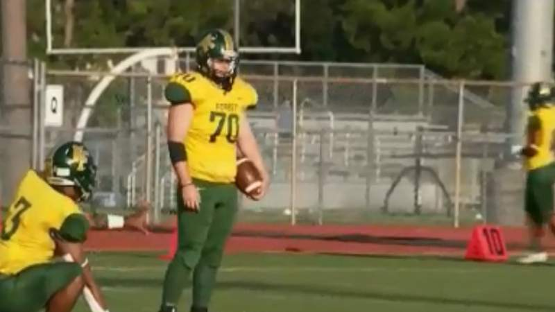 Protocols in place for high school football games