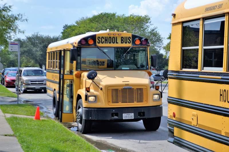 Houston ISD school bus