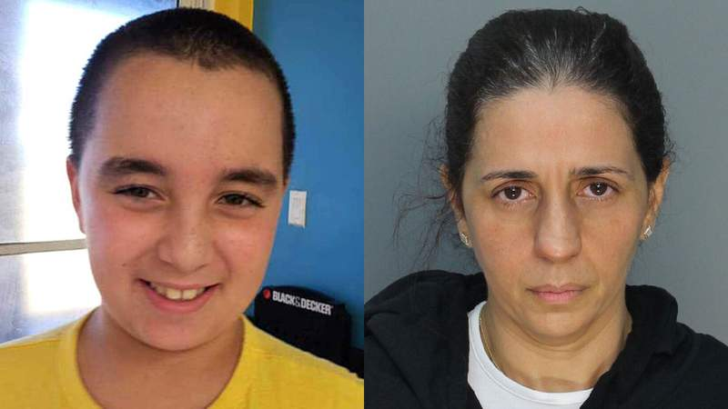 Detectives are accusing Patricia Ripley, 45, right of killing her 9-year-old son, Alejandro.