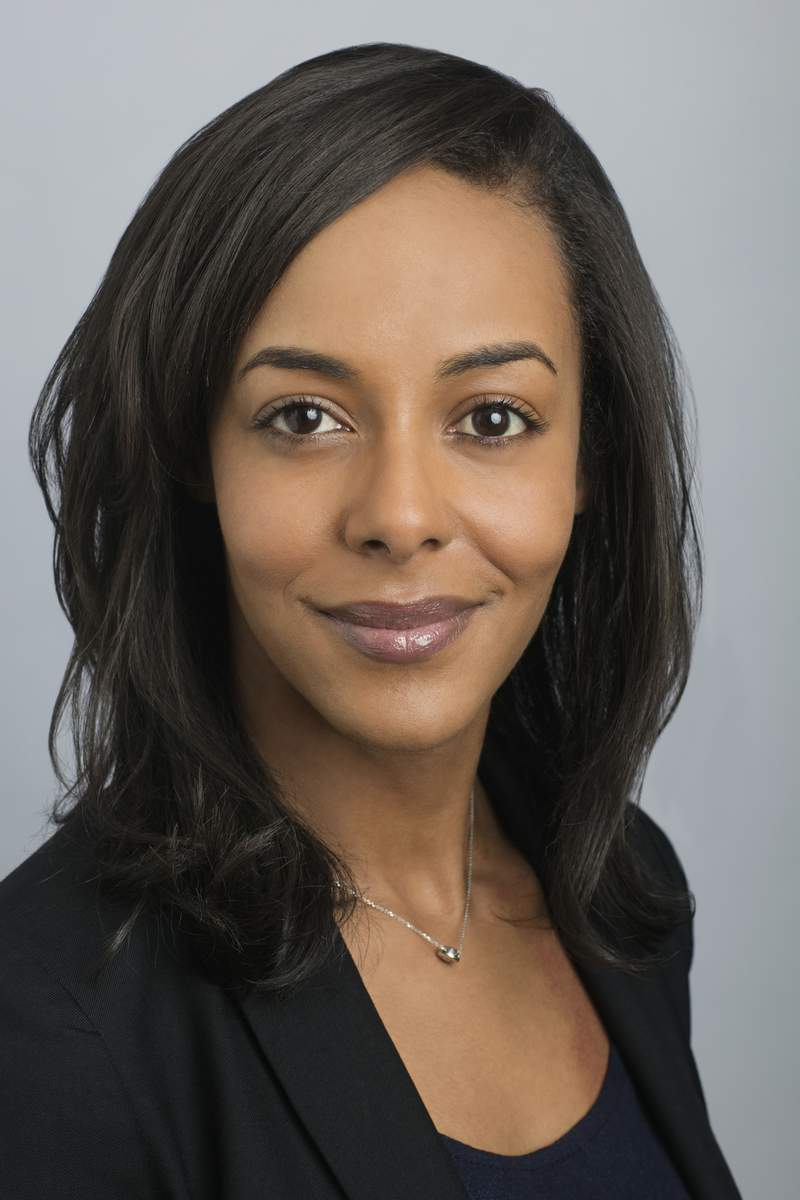 This image released by Alfred A Knopf shows executive director of the National Book Foundation, Lisa Lucas, who has been named senior vice president of the Knopf Doubleday Publishing Group imprints Pantheon and Schocken. (Beowulf Sheehan/Knopf Doubleday Publishing Group via AP)