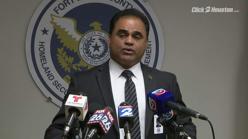 Fort Bend County officials give update after first 'presumptive positive' case of coronavirus in county