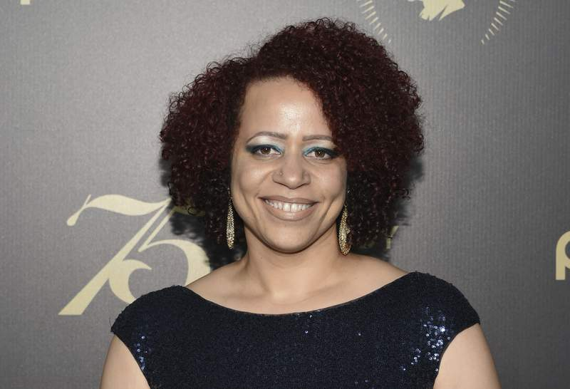 FILE - In this May 21, 2016, file photo, Nikole Hannah-Jones attends the 75th Annual Peabody Awards Ceremony at Cipriani Wall Street in New York. Weeks of tension over the hiring of investigative journalist Hannah-Jones at the University of North Carolina at Chapel Hill will now come down to a decision from the school's board of trustees on whether to offer her tenure. (Photo by Evan Agostini/Invision/AP, File)