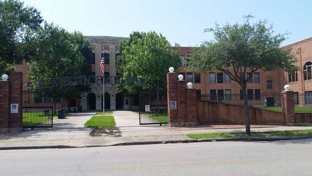 FILE PHOTO - Exterior photo of Austin High School in Houston.