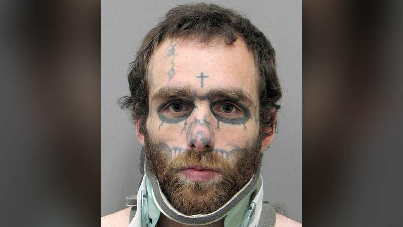 This undated booking photo provided by the Henderson Police Department shows Christopher McDonnell, 28, of Tyler, Texas, following his arrest Thursday, Nov. 26, 2020, on murder, attempted murder, battery and firearm charges.