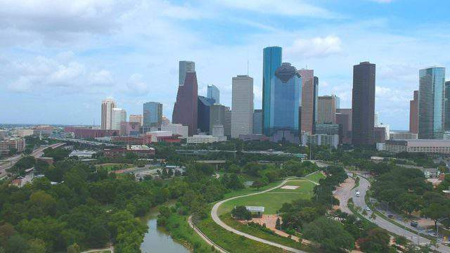 The skyline of Houston is seen in this undated file image.