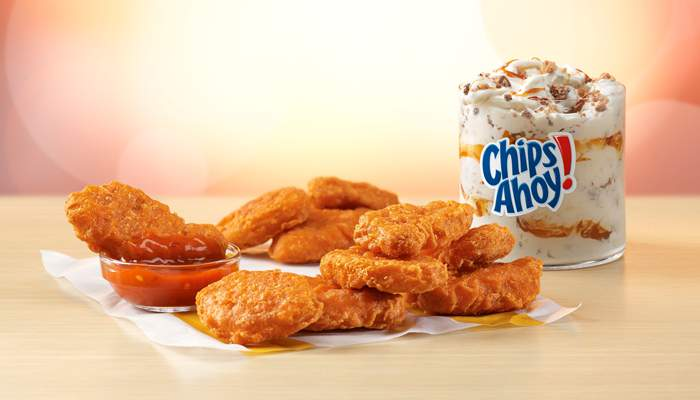 Spicy Chicken McNuggets® and Mighty Hot Sauce hitting U.S. menus this fall, along with new McFlurry®