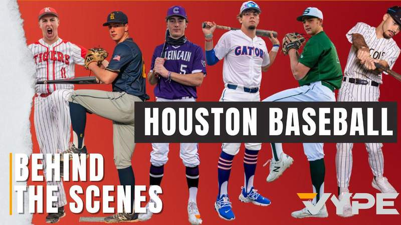 #WHATASNAP: Behind the Scenes at the 2020 VYPE Houston Baseball Photoshoot