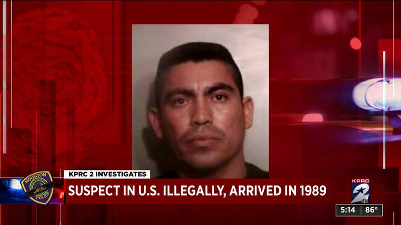 Suspect in U.S. illegally arrived in 1989