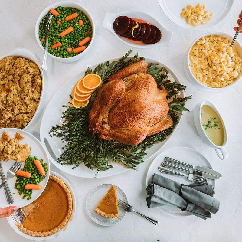 Luby's holiday food