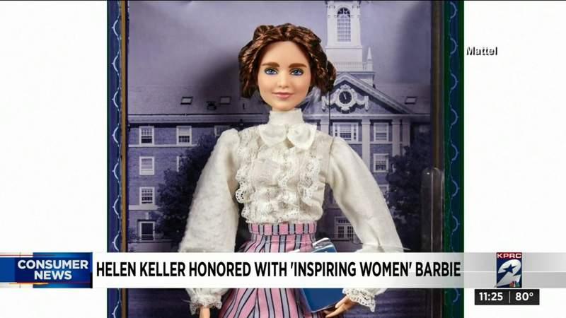 Helen Keller honored with 'inspiring women' Barbie