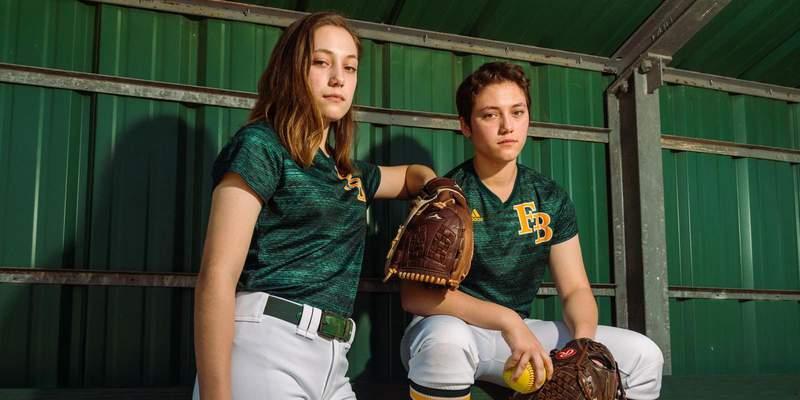 Twin Diamond Stars: FBCA's Payton Sisters excel on softball field
