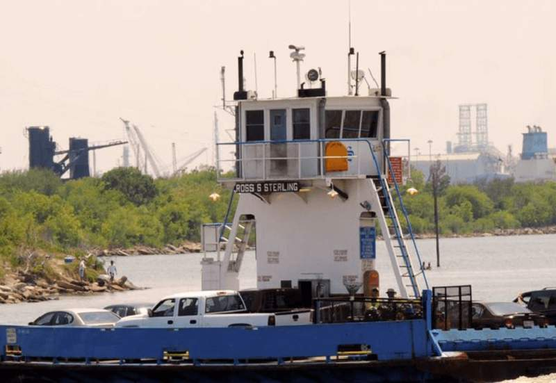 Lynchburg Ferry, as seen in an image from the HCTRA website, collected on Sept. 18, 2021.