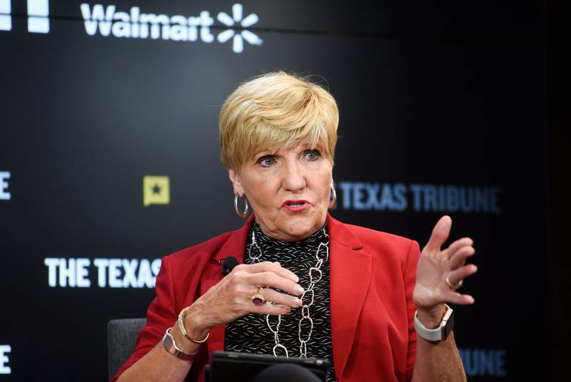 Fort Worth Mayor Betsy Price at The Texas Tribune Festival on Sept. 29, 2018.
