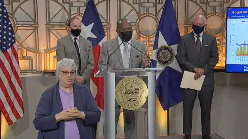 Coronavirus positivity rate increases in Houston, mayor says