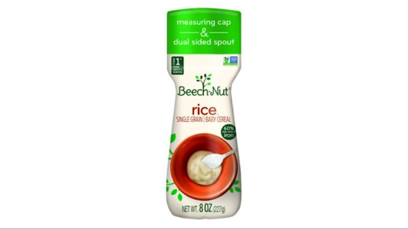 Beech-Nut issues voluntary recall for rice cereal.