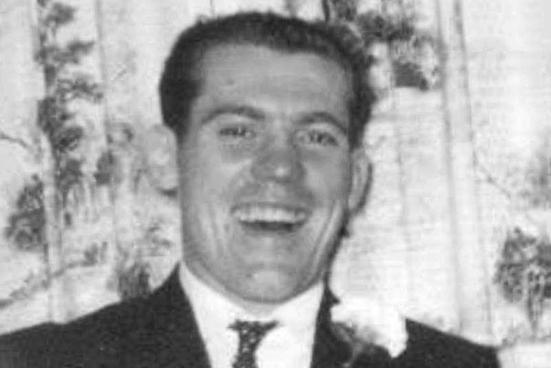 """This October 1962 photo released by the New Hampshire Attorney General's Office shows Winston """"Skip"""" Morris, whose remains were found along Interstate 93 in Salem, N.H., on Aug. 7, 1969. Officials announced Monday, April 6, 2020, they had finally identified the remains as those of Morris, of Vermont, who had been released from prison three months earlier. (New Hampshire Attorney General's Office via AP)"""