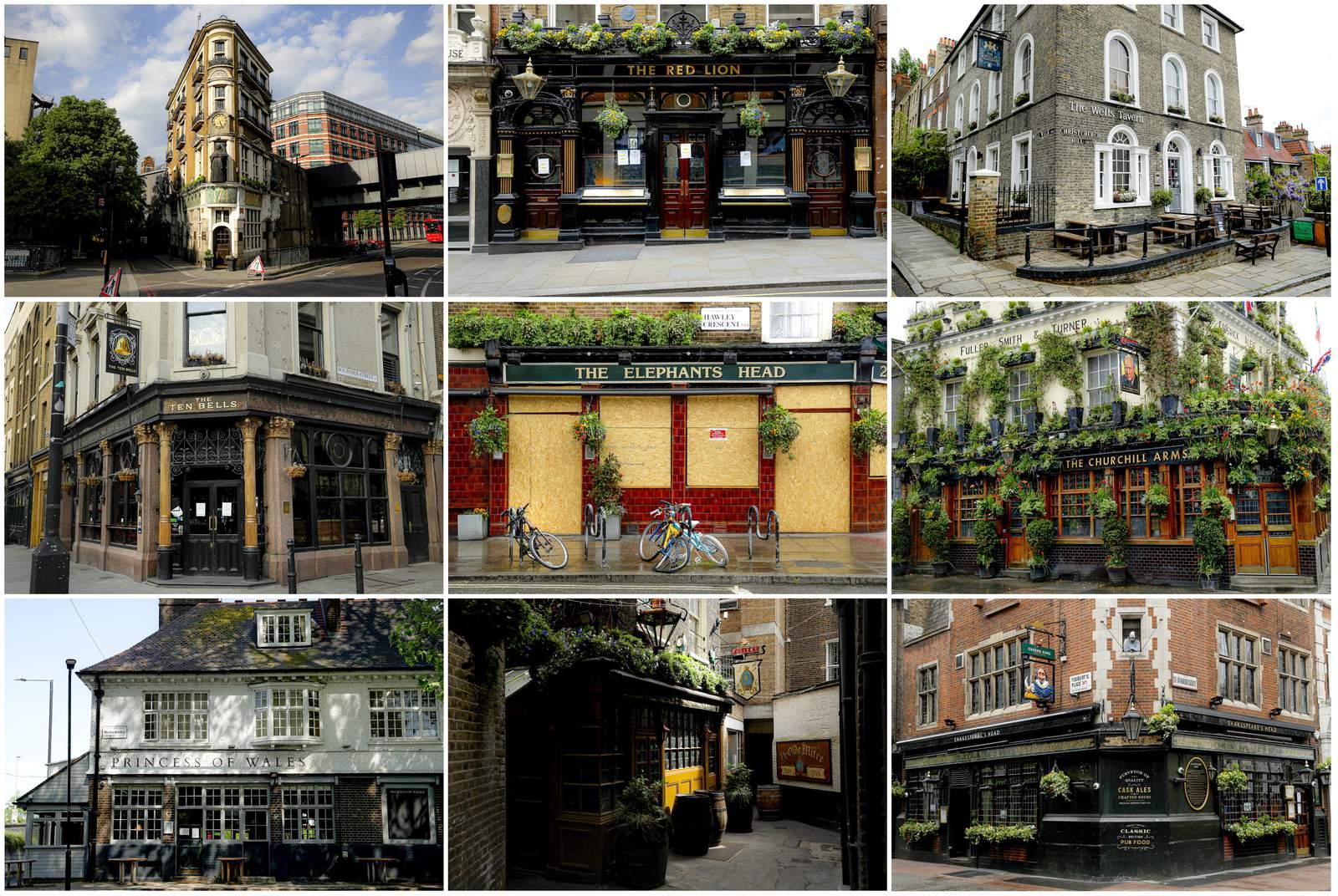 Los pubs del Reino Unido esperan la llamada para abrir puertas nuevamente 10