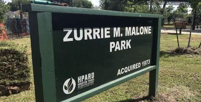 Zurrie Malone Park