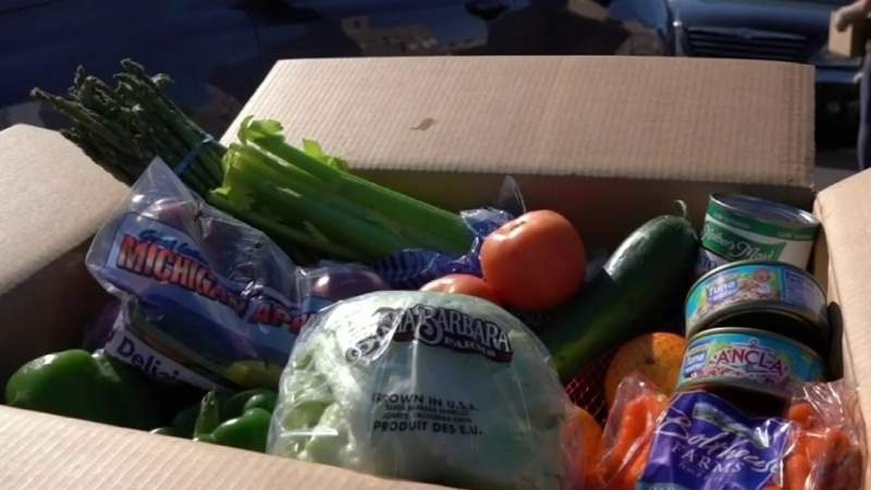FILE - Harris County is providing $550,000 to help combat food insecurity.