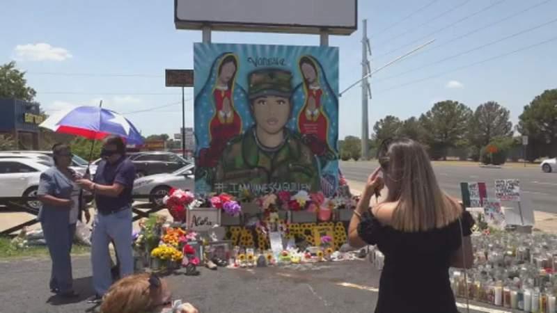 Memorial held for Vanessa Guillen