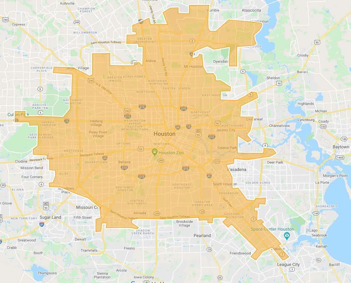 Consulte este mapa para ver si está bajo aviso de agua hirviendo durante las próximas 24 horas debido a la interrupción principal del agua de Houston 69