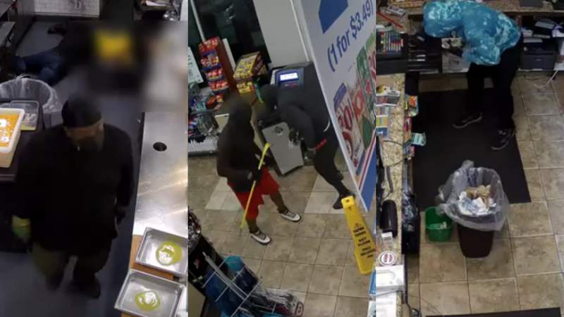 Houston police ask for public's help identifying aggravated robbery suspects