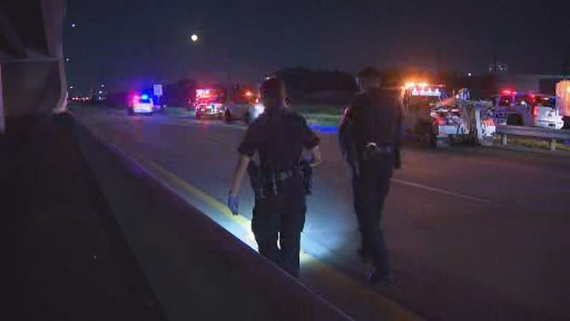 A man was killed Monday night after he was shot while driving on the Westpark Tollway, according to the Houston Police Department.
