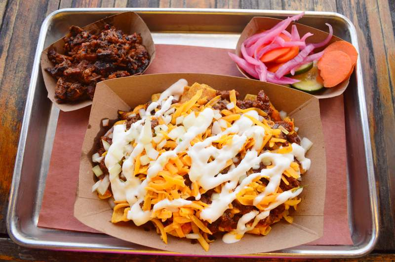 The Pit Room Frito Pie