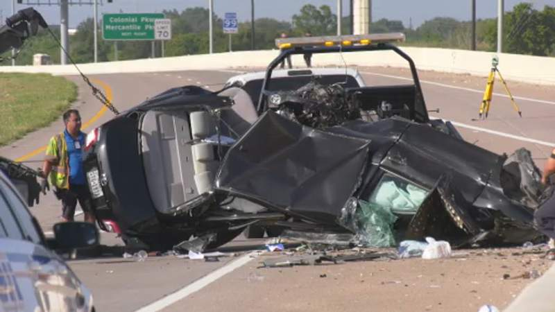 HCSO: Driver killed in crash on Grand Parkway