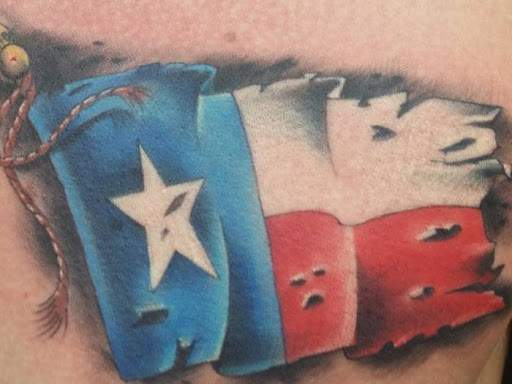Texans show off their ink.