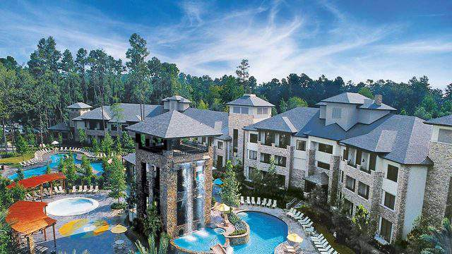 The Woodlands Resort ranks no. 5 for best hotel pool by USA TODAY.