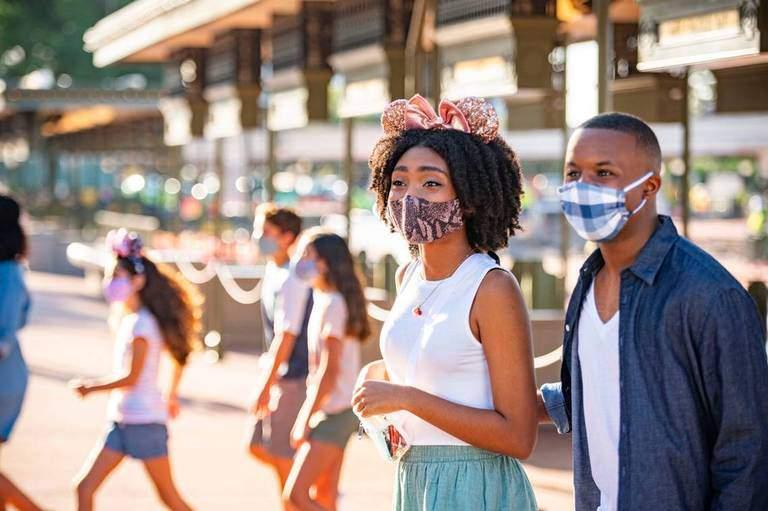 Walt Disney World masks