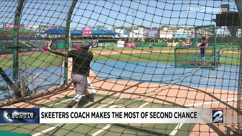 Sugar Land Skeeters coach makes most of second chance