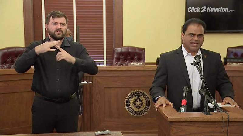 Fort Bend County judge discusses COVID-19 situation