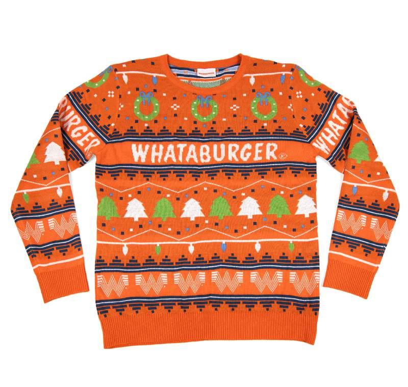 Whataburger 2020 holiday sweater