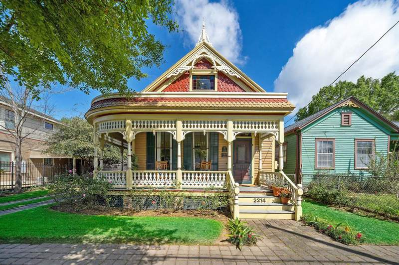 """""""The restoration of the intricate woodwork is simply stunning. The home also includes an extended driveway and 2-car garage."""" Photo credit: Strata Visuals"""