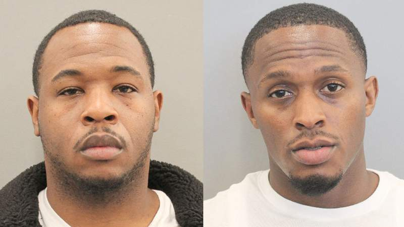 Deshaun St. Julien, 33, and John Coleman, 30, were both charged with murder in connection with the shooting death of 36-year-old Cloatee Hubbard. (From left to right)