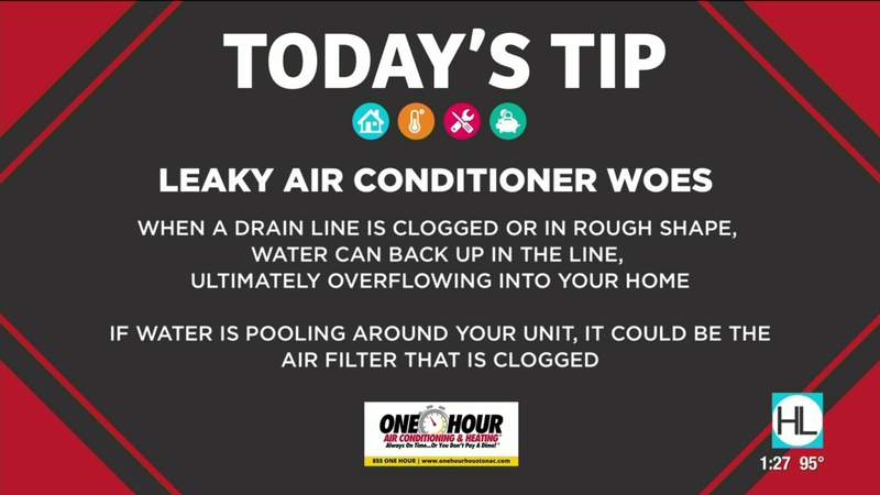 Tip Tuesday: Leaky air conditioner woes   HOUSTON LIFE   KPRC2