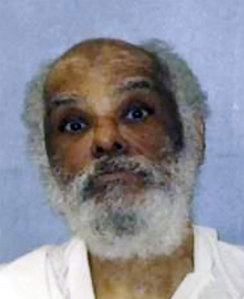 This photo provided by the Texas Department of Criminal Justice shows Raymond Riles. An appeals court has overturned the sentence of Texas' longest serving death row inmate, whose attorneys say has languished in prison for more than 45 years because he's too mentally ill to be executed. (Texas Department of Criminal Justice via AP)