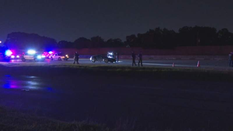 HPD: Man struck, killed while checking flat tire on freeway