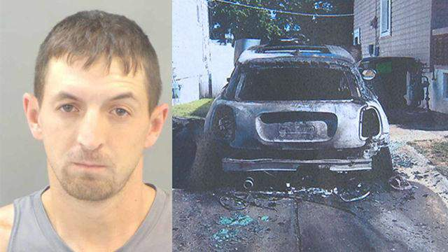 Dean Allen McBaine was sentenced to prison after his ex-wife's car was bombed in St. Louis in September 2018.