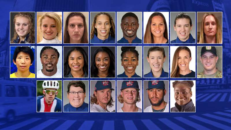 Olympic athletes with Houston ties will be competing this weekend.