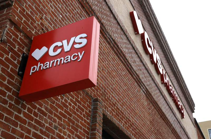 FEBRUARY 16: A sign is posted in front of a CVS store (Photo by Justin Sullivan/Getty Images)