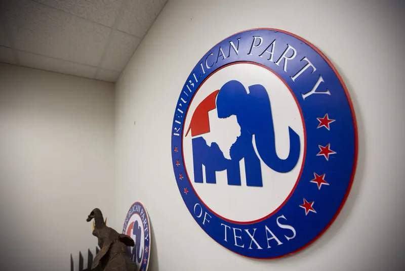 The Republican Party of Texas office in downtown Austin. Photo credit: Eddie Gaspar/The Texas Tribune