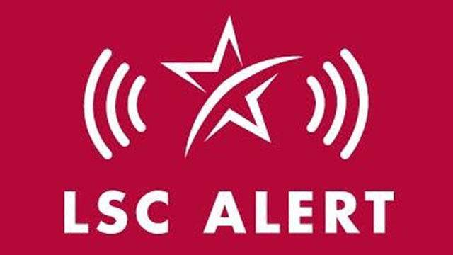 Alert message from Lone Star College.